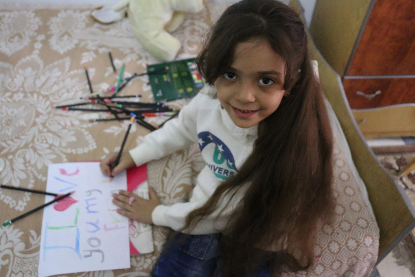 naked syrian little girl