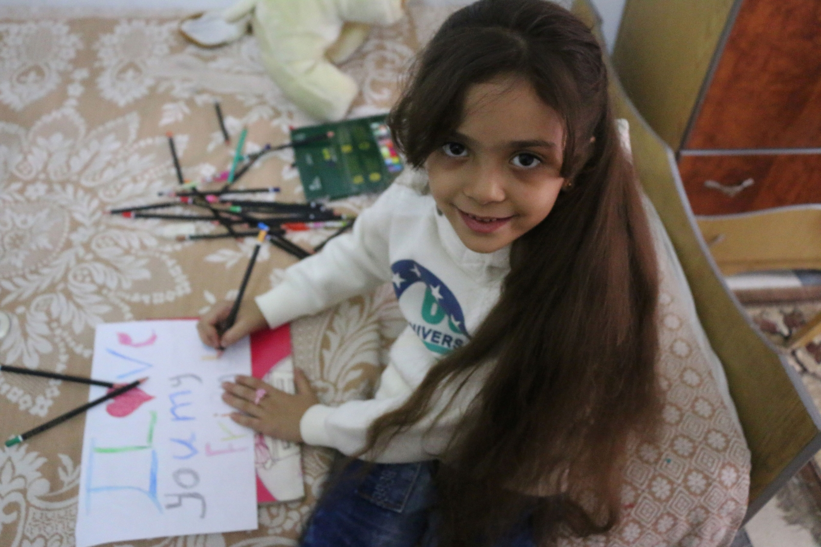 7-year-old Syrian Twitter girl Bana evacuated from Aleppo