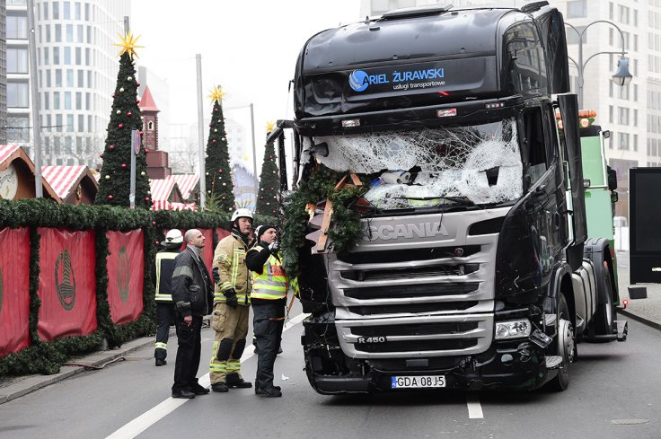 Berlin truck crash