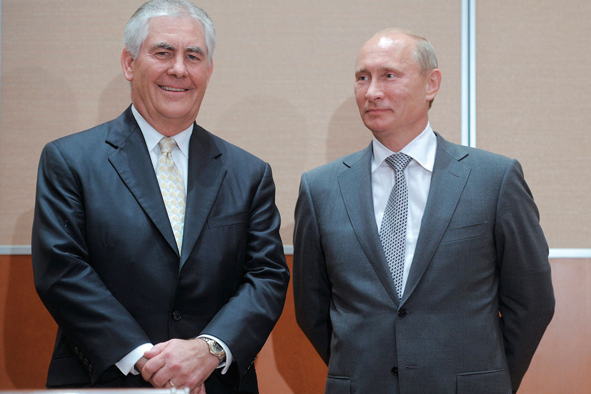 Not just Putin's pal: ExxonMobil CEO Rex Tillerson would be formidable as Trump's Secretary of State