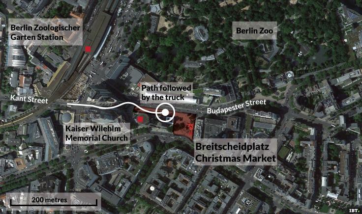 Design Attack Berlin berlin market truck attack raid refugee centre
