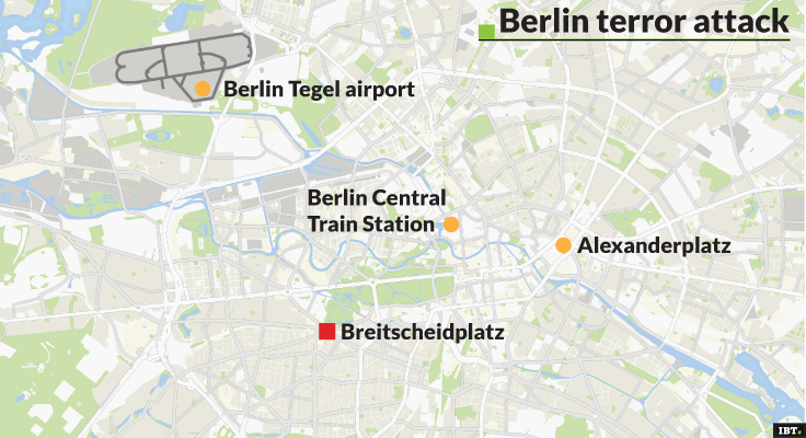 Berlin, Christmas Market Attack