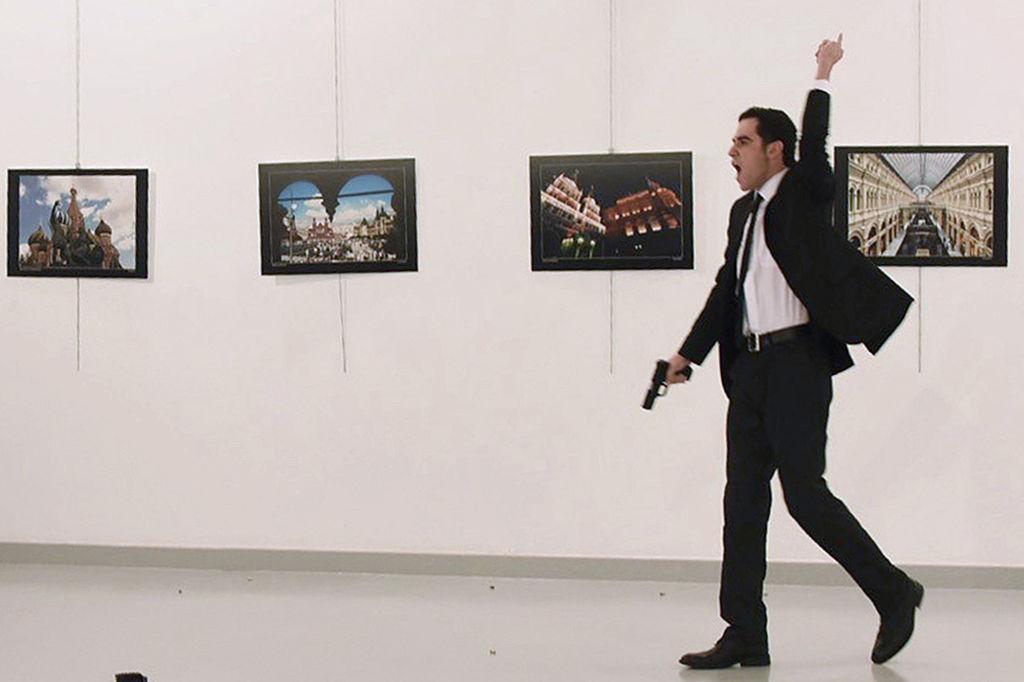 Mevlut Mert Altintas, the gunman who killed Russia's Ambassador to Turkey,