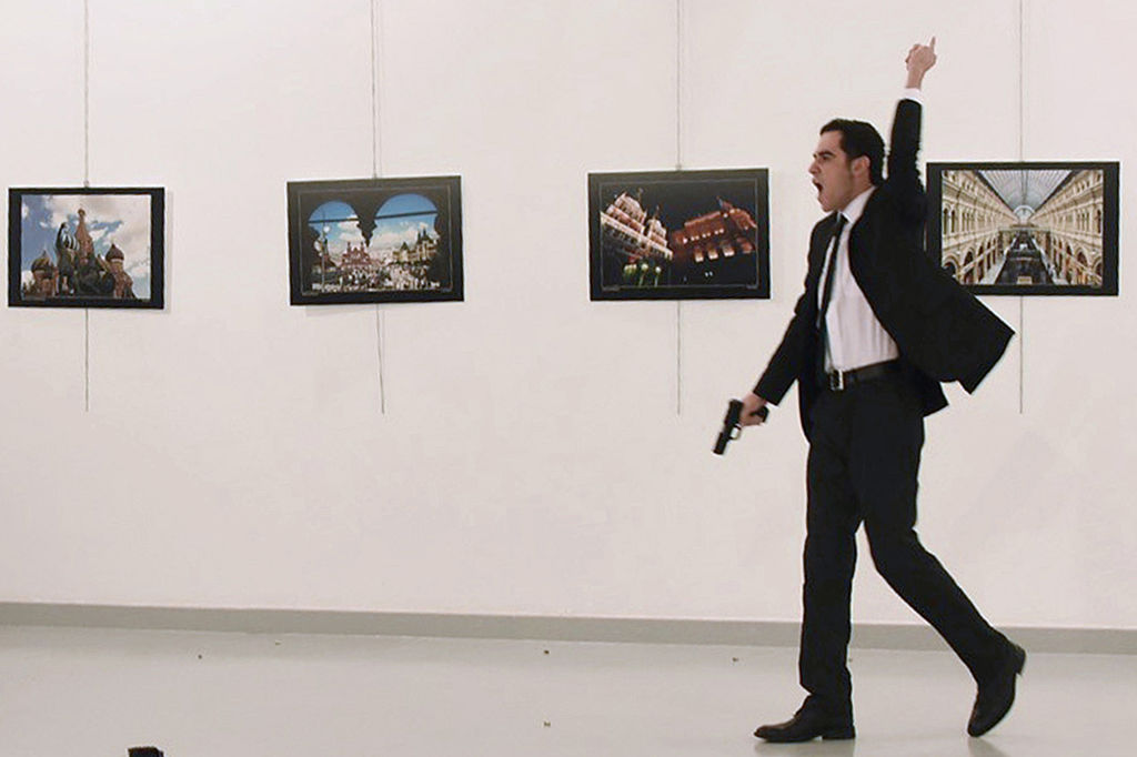 Mevlut Mert Altintas, the gunman who killed Russia's Ambassador to Turkey,