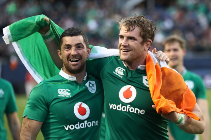 Rob Kearney and Jamie Heaslip