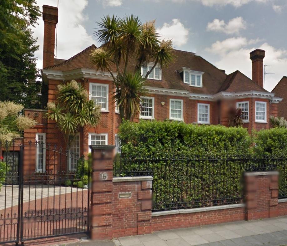 16 Avenue Road St John's Wood London
