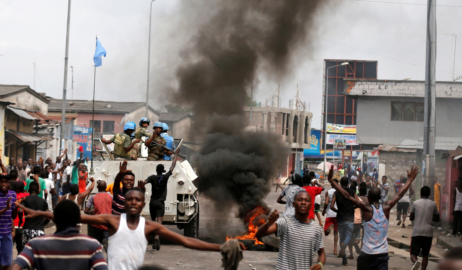 Kinshasa anti-Kabila protests