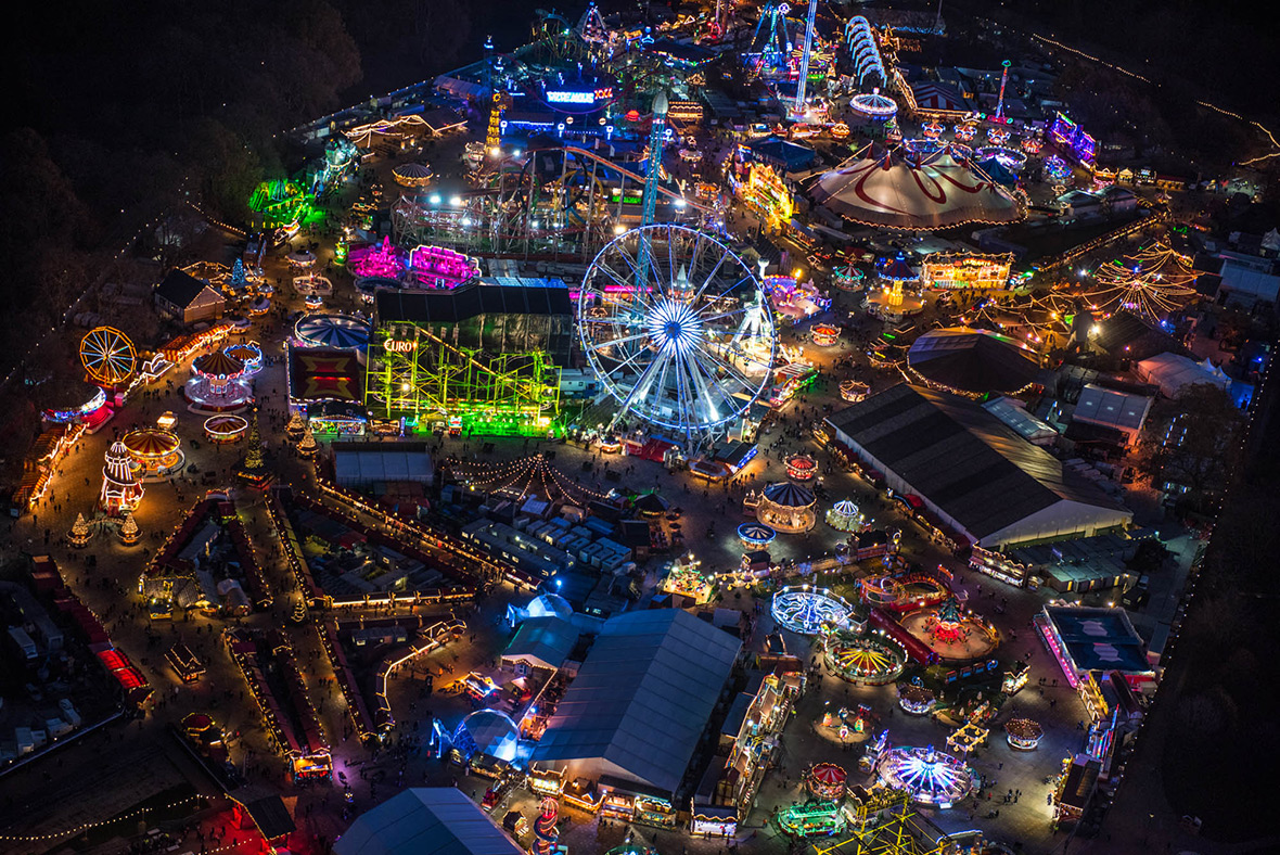 Jason Hawkes's most spectacular aerial photographs of