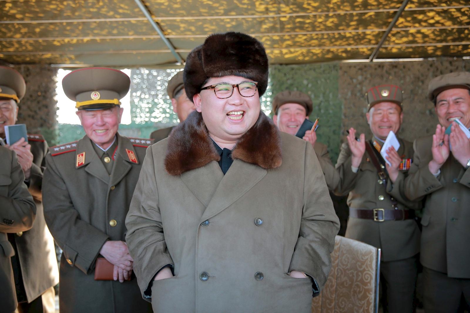 North Korea Kim Jong-un military drills