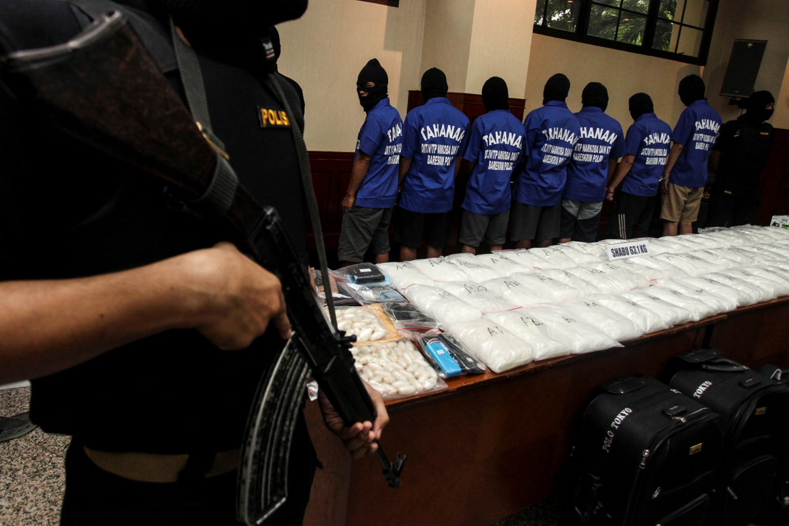 Indonesia drug menace