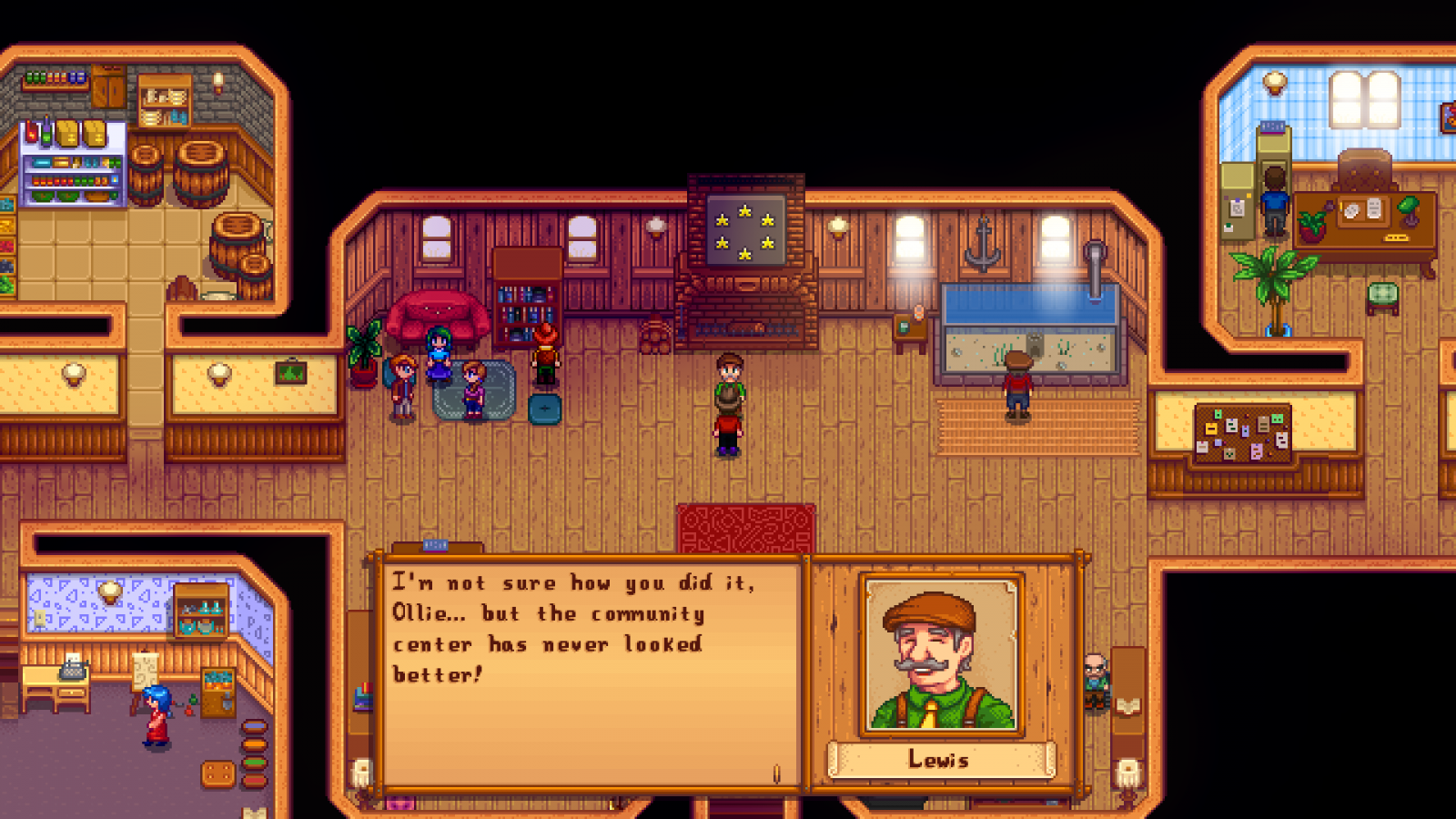Stardew Valley Community Centre