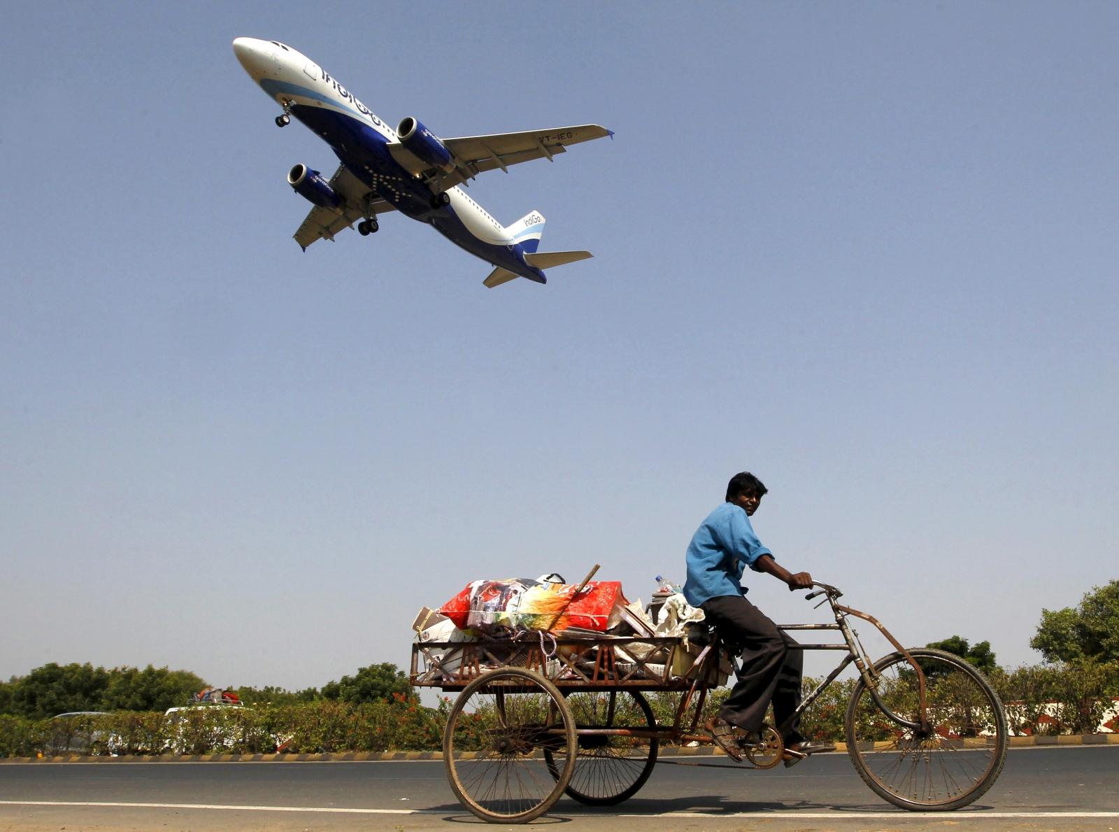 India airlines human excreta