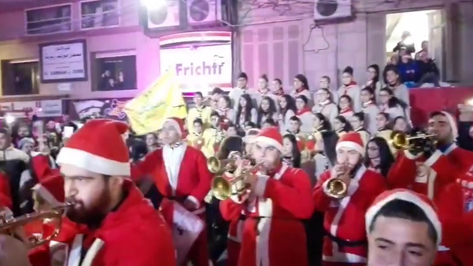 Image result for West Aleppo celebrates christmas 2016 images