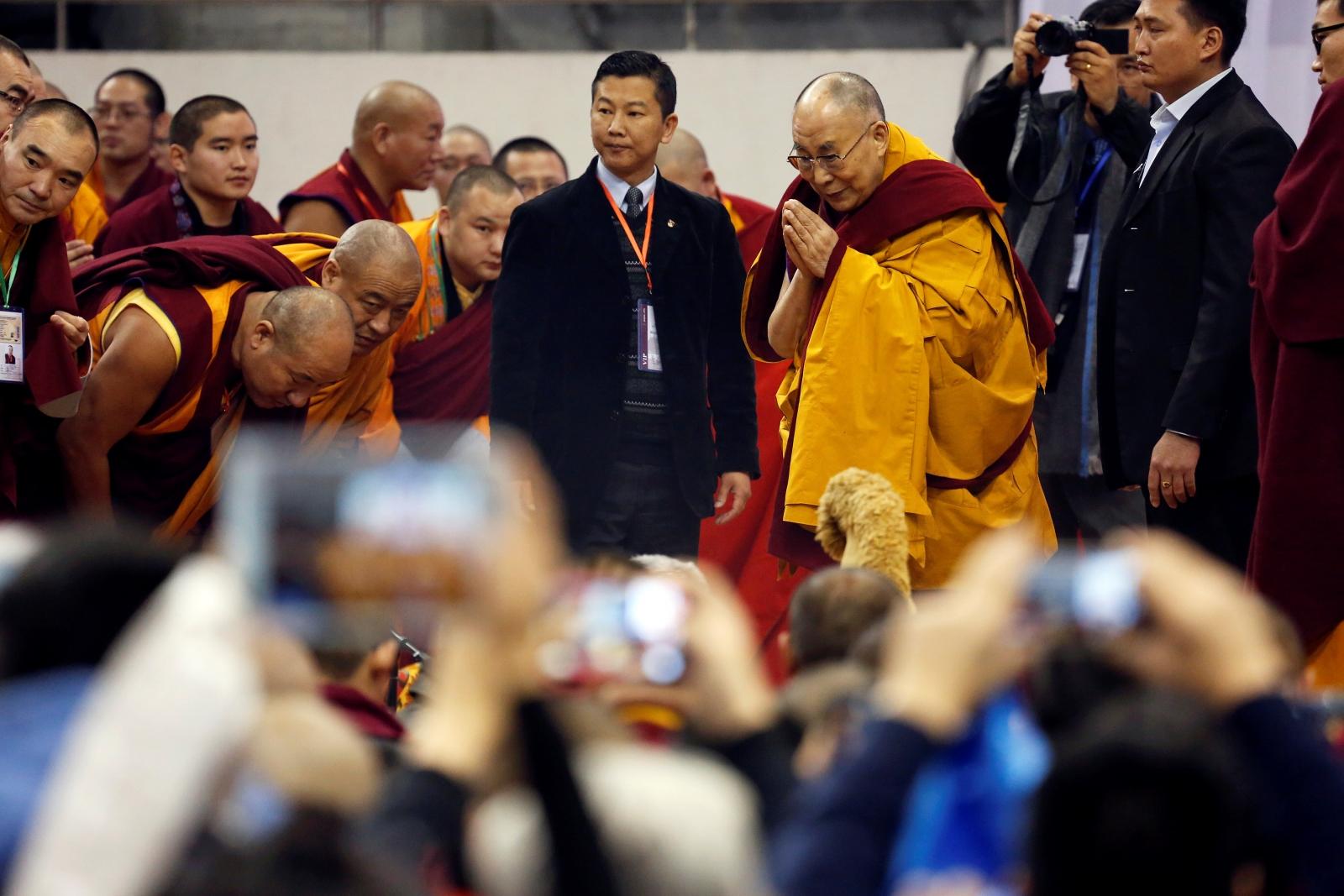 Dalai Lama Mongolia visit