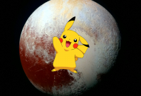 Pikachu on Pluto