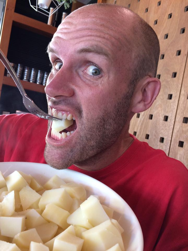 Potato-only diet for one year made Andrew Taylor thinner ...