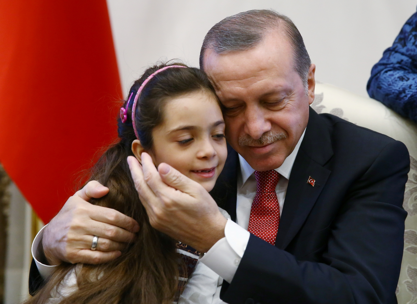 Bana Alabed meets President Erdogan