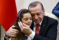 Bana Alabed meets President Erdogan