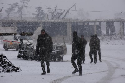Aleppo in the snow