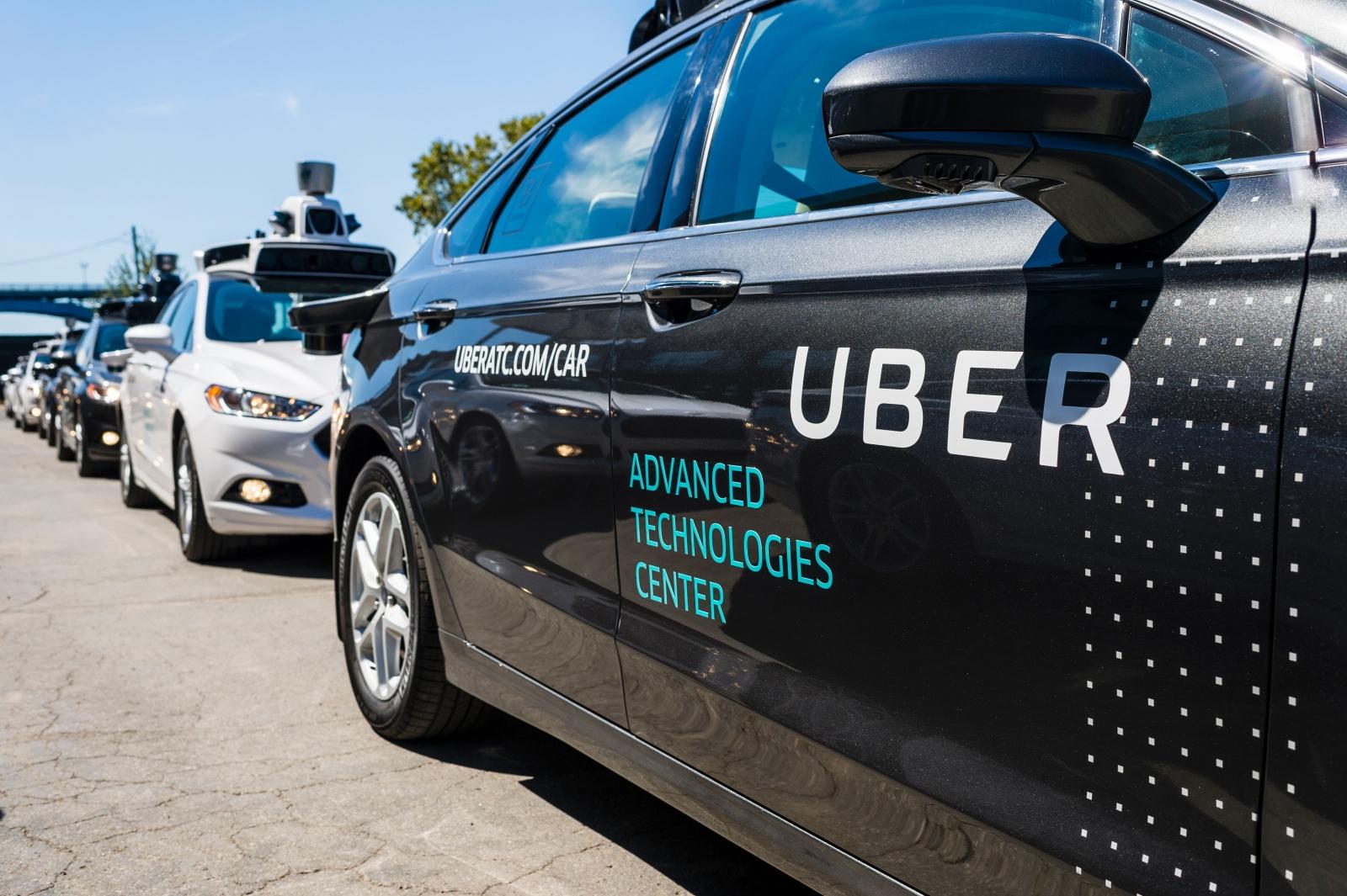 Uber self-driving cars
