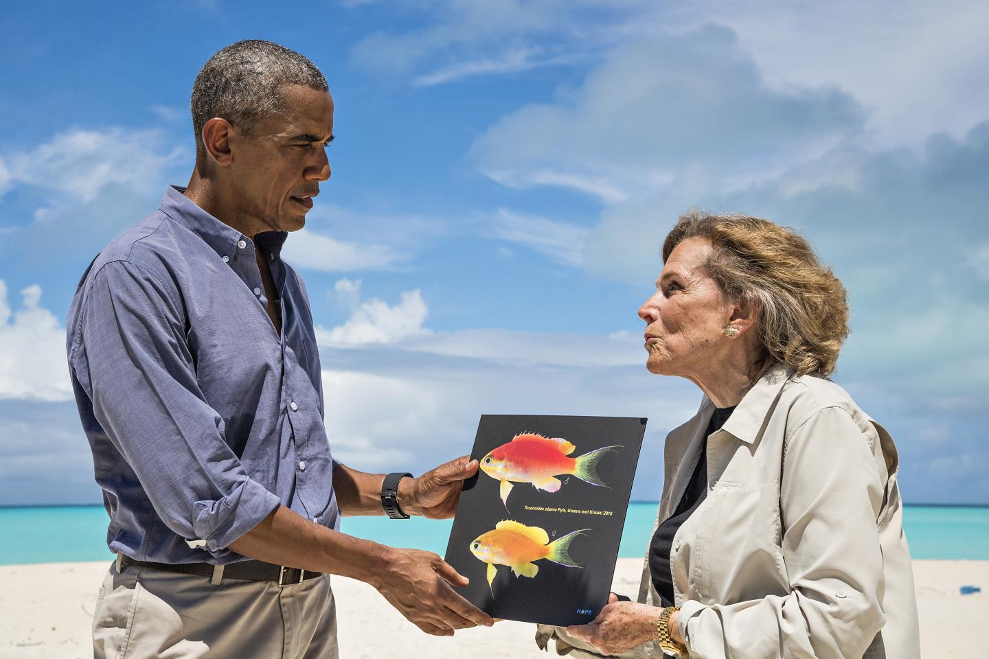 New species of fish found in Papahanaumokuakea named after President Obama