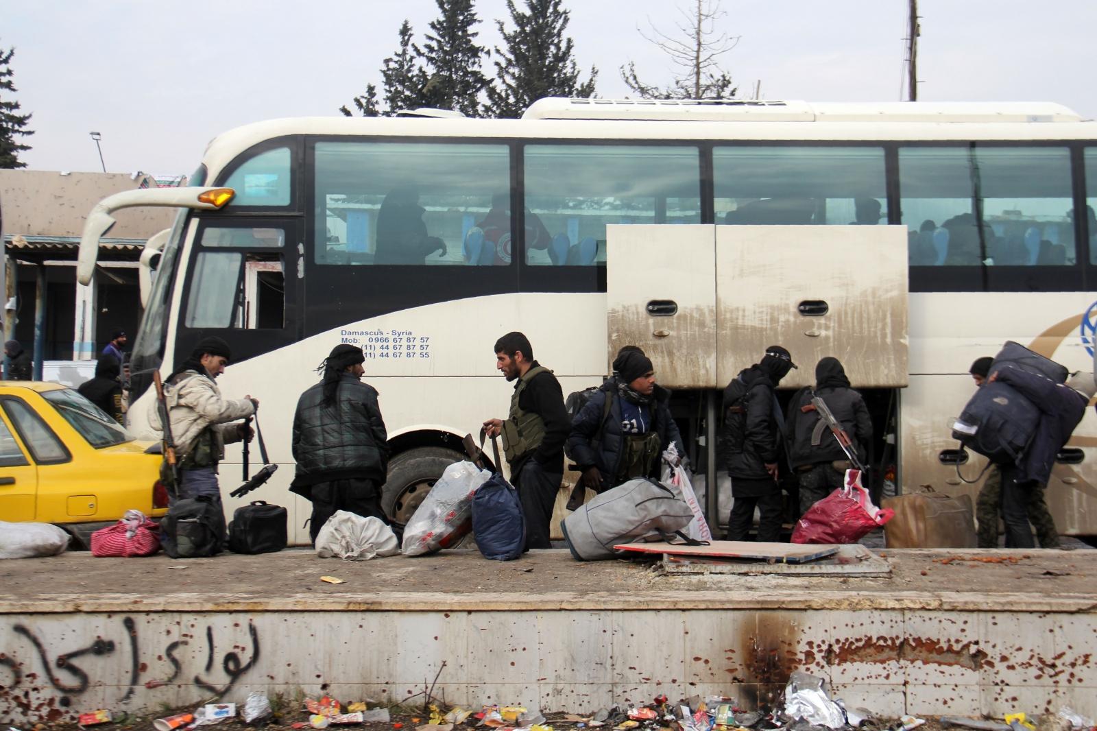 Aleppo evacuation complete December 2016