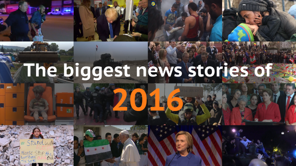 Biggest news stories 2016