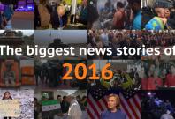 Biggest news stories 2016