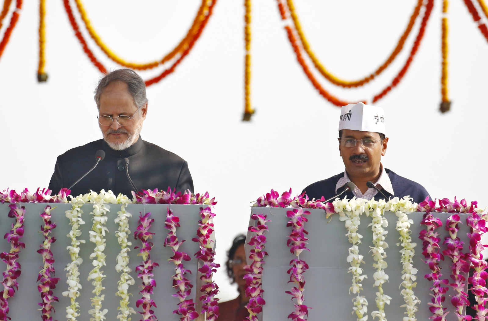 New Delhi's Lieutenant Governor Najeeb Jung