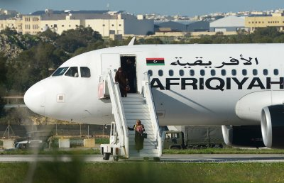 Afriqiyah Airways Malta Libya