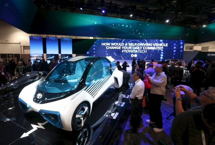 Toyota at CES 2016
