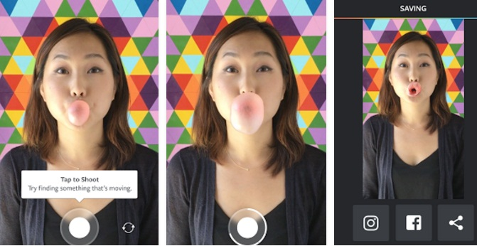 The Boomerang app