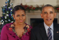 President Obama Delivers Final Christmas Message From White House