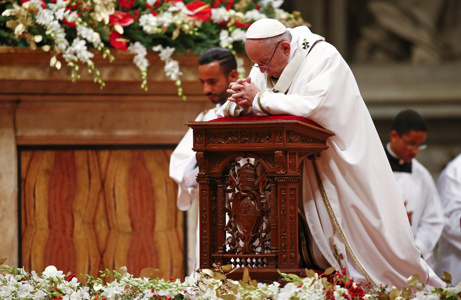 Christmas eve pope francis
