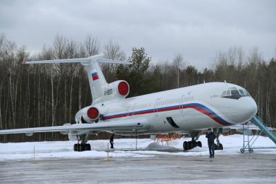 Russian Tu-154