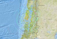 Chile Earthquake Tsunami Warning 25 December