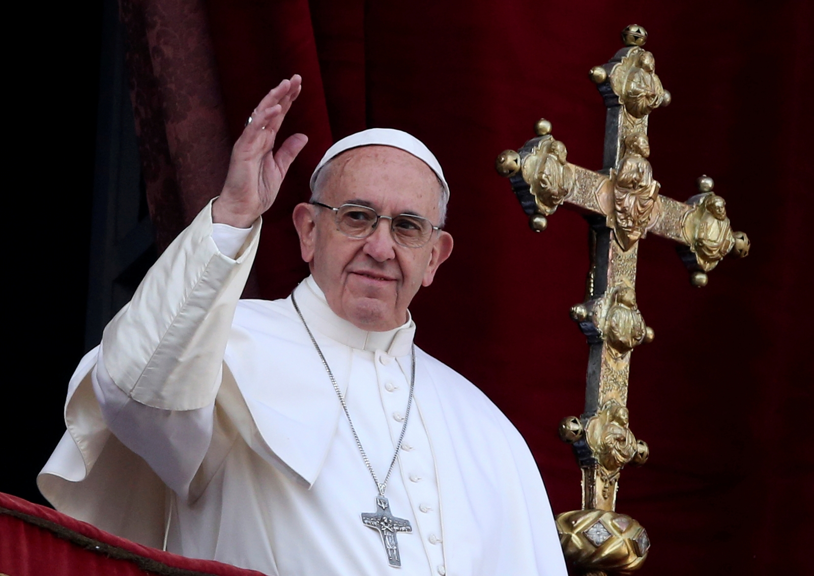 Pope Francis Christmas message 2016
