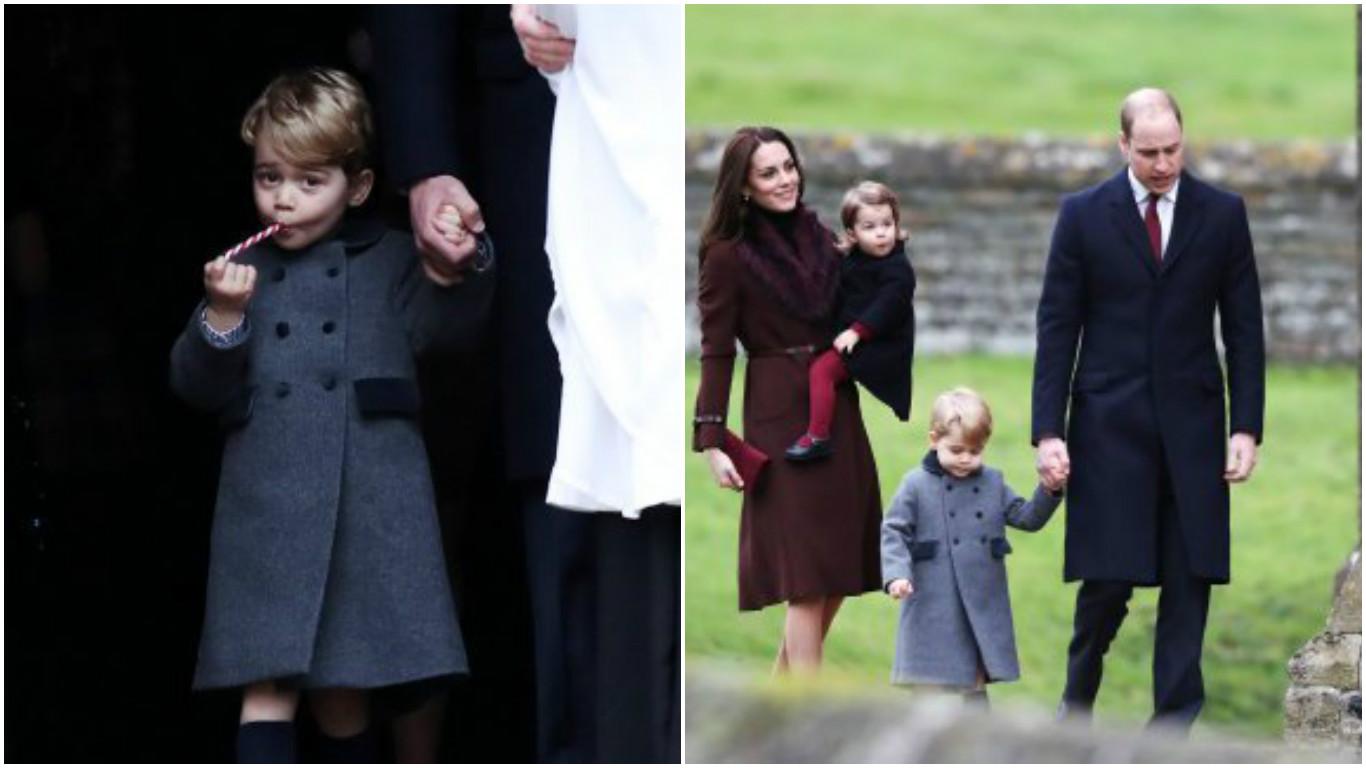 Duke and Duchess of Cambridge and family