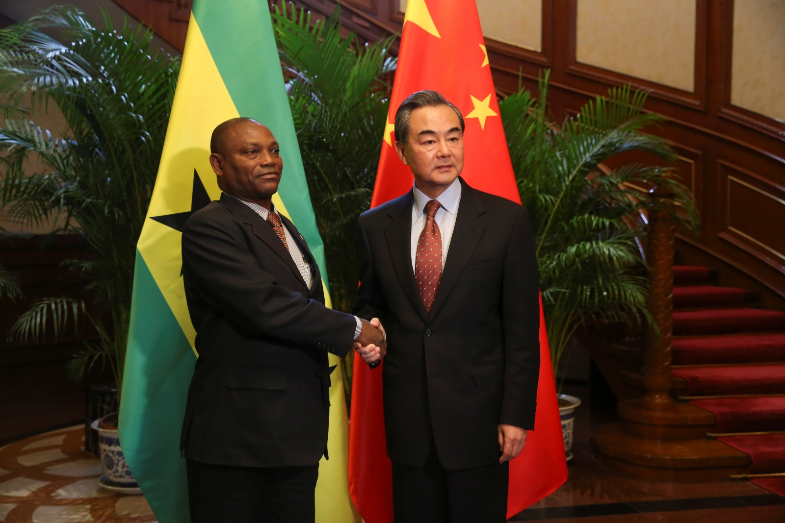 China And Sao Tome Resume Diplomatic Relations