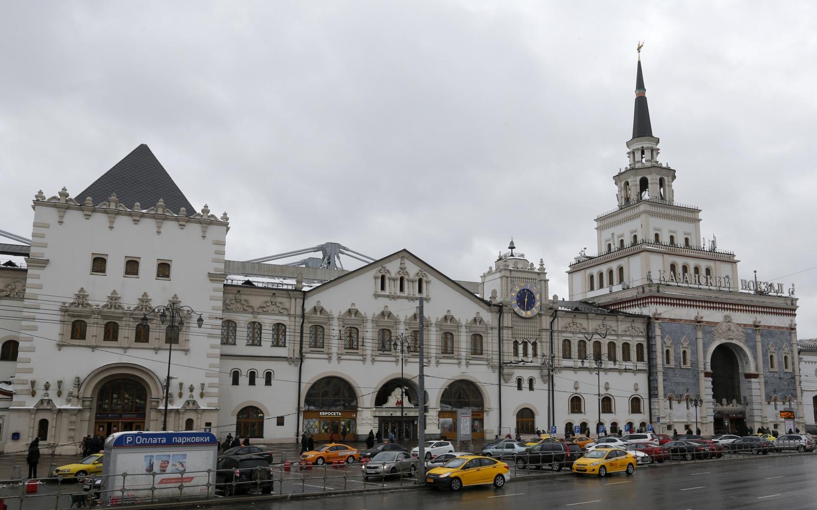 Kazansky railway terminal