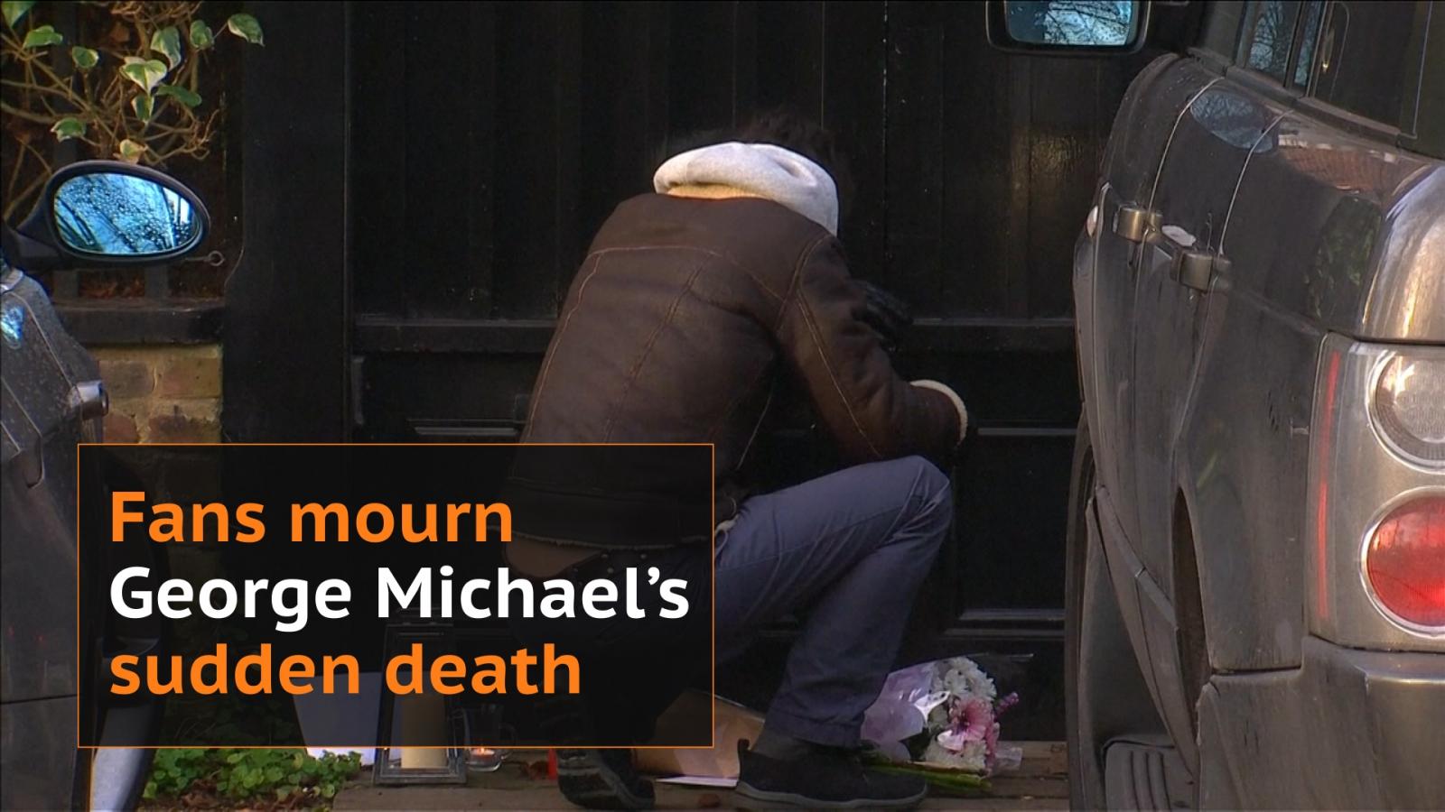 George Michael: Fans mourn death