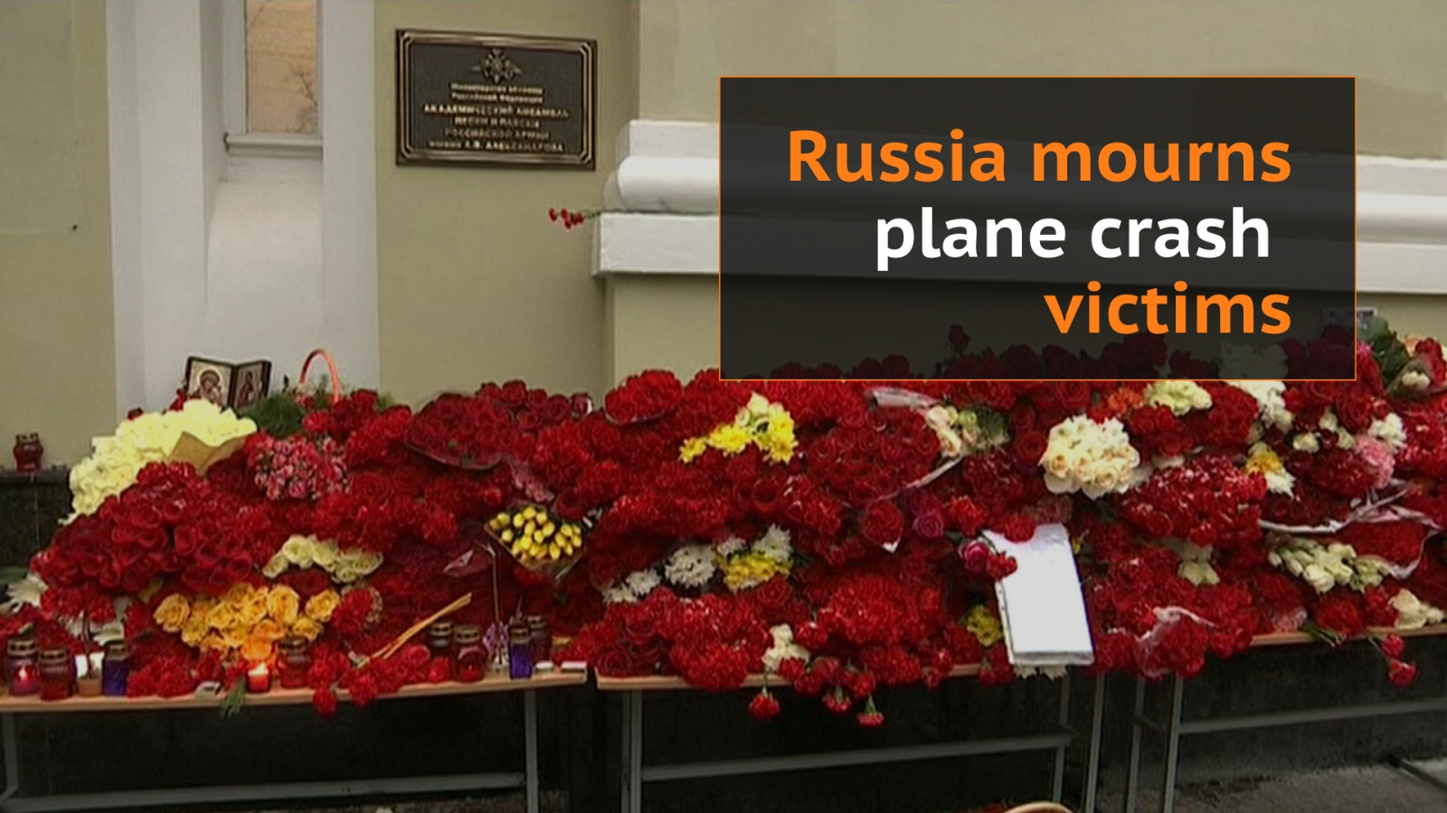 Sochi plane crash day of mourning