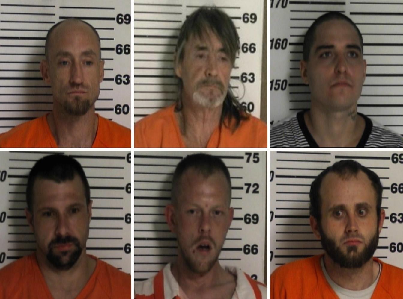six men jail