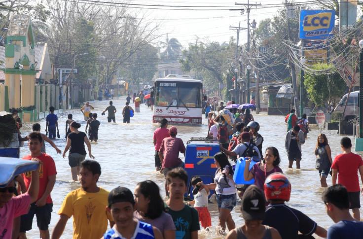 Typhoon Nock-Ten Philippines