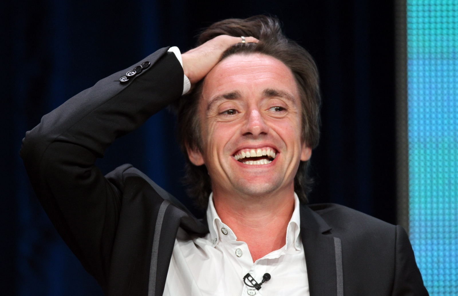 Richard Hammond suffers second crash on motorbike