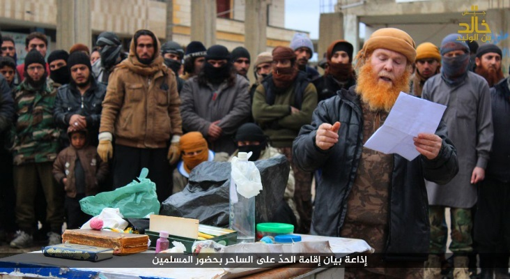Ginger jihadist orders execution
