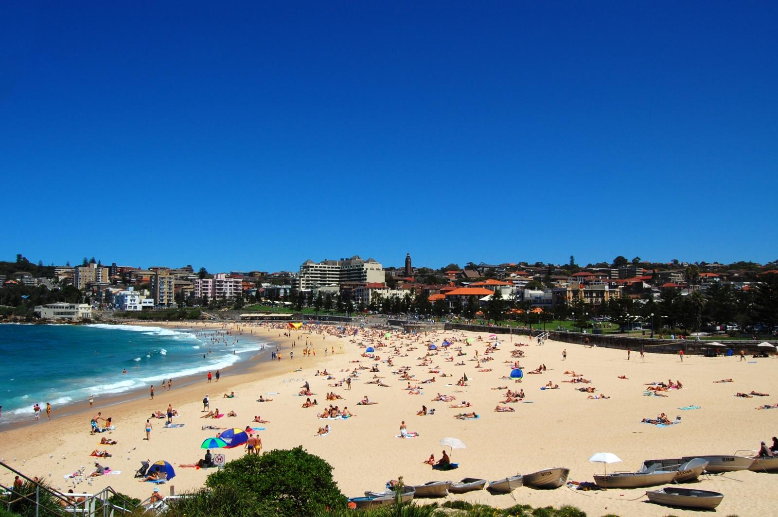 Coogee Beach in Sydney