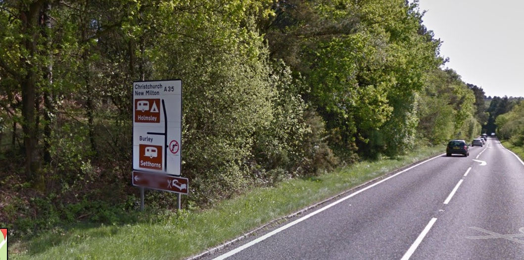 Burley Hampshire accident