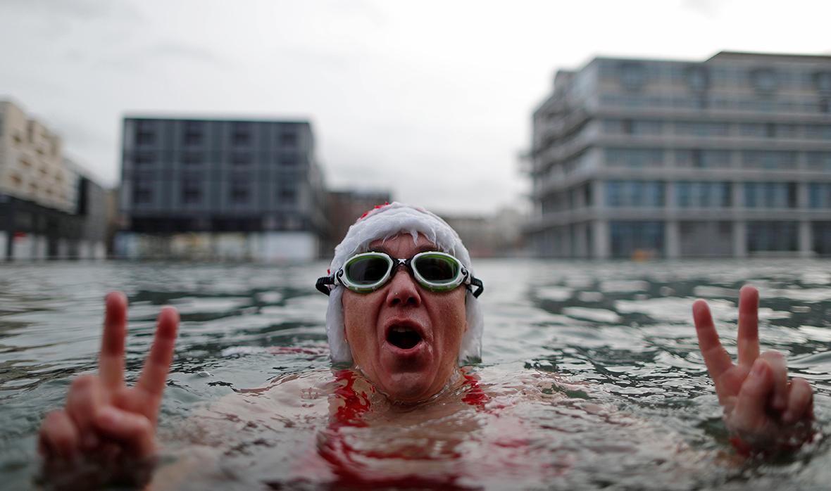 Christmas swim