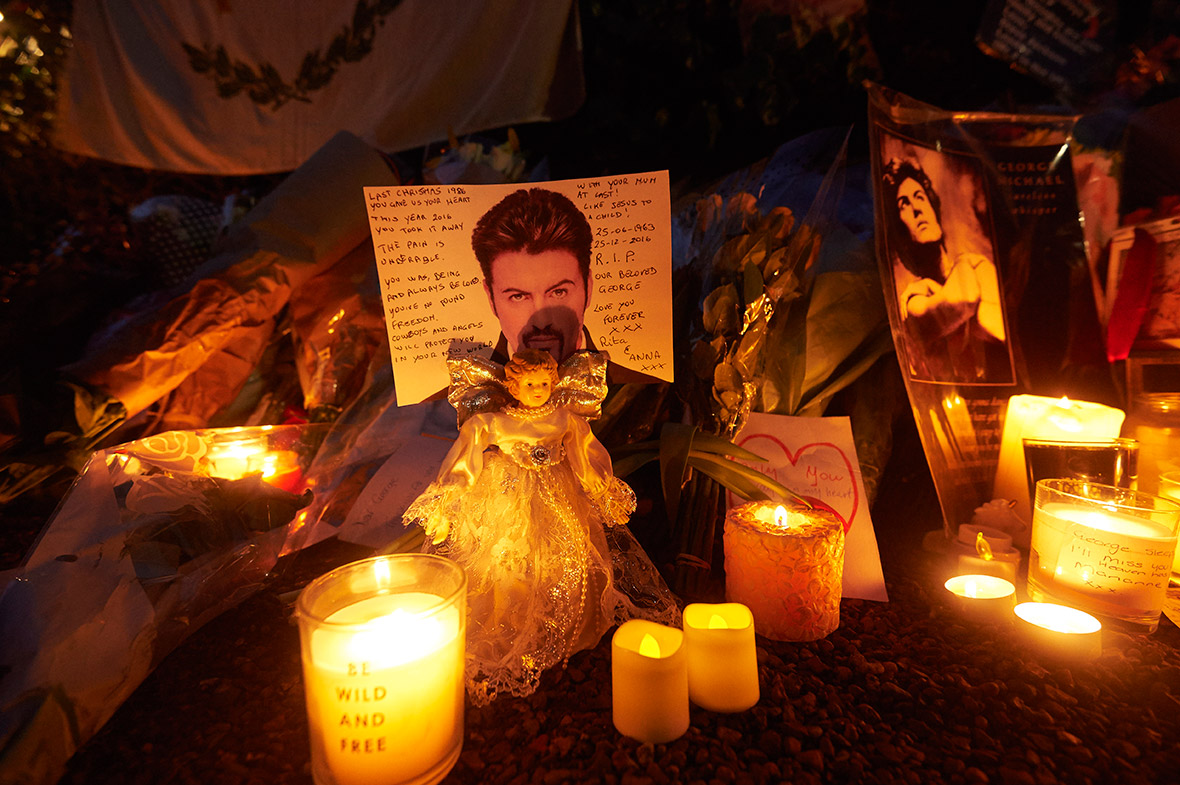 George Michael fans tributes